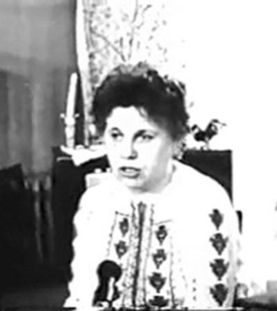 «-Гея! - услышала я голос…» (Кадр из документального фильма о геофизике Эмме Несмеянович).