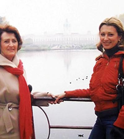 С мамой в Берлине.