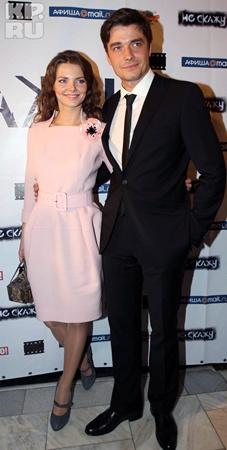 Лиза Боярская с мужем.