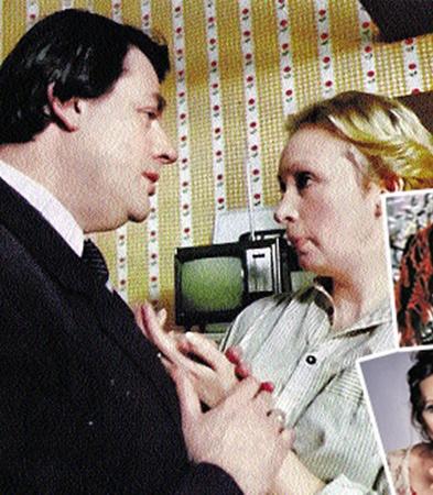 На роль социолога Сусанны (сыграла Татьяна Васильева) пробовались Инна Чурикова (справа вверху) и Любовь Полищук (справа внизу). Кадр из фильма.