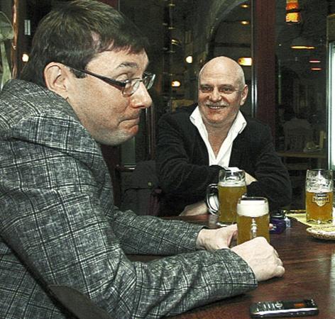 Отбросив условности, Юрий Луценко и Мыкола Вересень вспоминали «боевое прошлое».