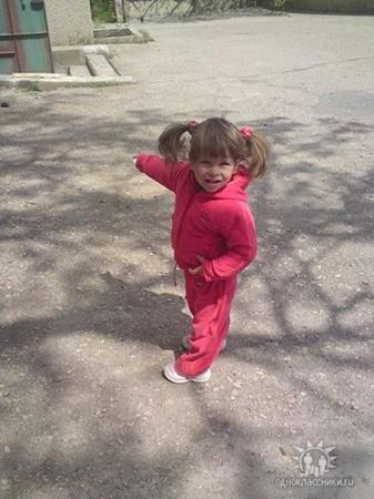Младшая - Кира, 2 года