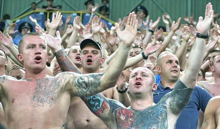 Польские болельщики помогли «Леху» победить в Днепропетровске