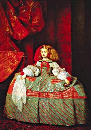 Портрет инфанты Маргариты Австрийской. 1660 год.