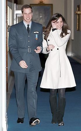 Кейт и Уильям, когда вместе, так и светятся от счастья.