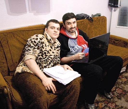 Павлик и Семенов довольны свалившейся на них популярностью, но скучают по семьям.
