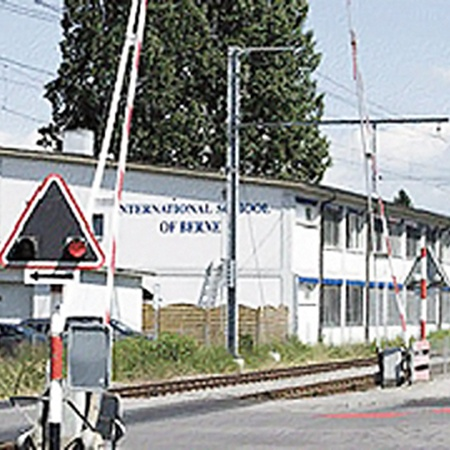 Международная школа в Берне, где учился Ун.