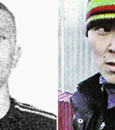 Таксист Алексей Соловьев (слева) и его приятель Орлан Солчак задушили Юлю и закопали тело в подмосковном лесу.