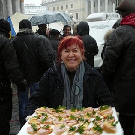 Предпринимателям принесли провиант. Фото Texty.org.ua
