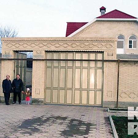 Погоня привела казаков к дому местного чеченца...