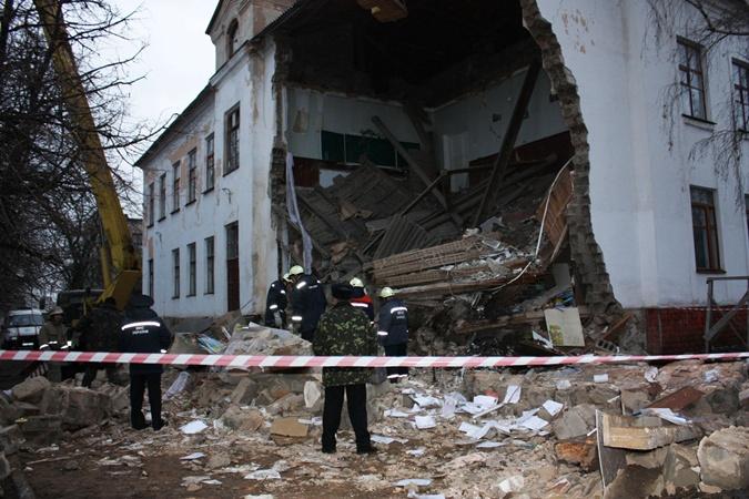 К счастью, детей в тот момент в здании не было. Фото: ГУ МЧС.