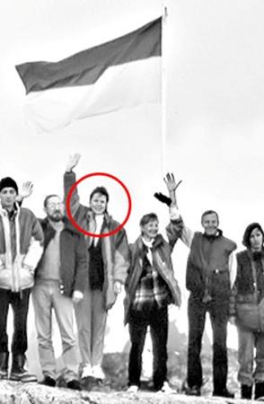 В 25 лет Галина  покорила Южный полюс.