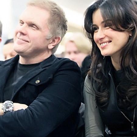 Андрей Колесников (главный редактор «Русского пионера») и Тина Канделаки.