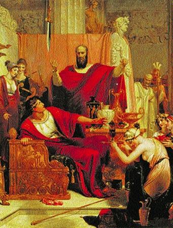 Цицерон запоминал факты, «навешивая» их на лепнину потолка.