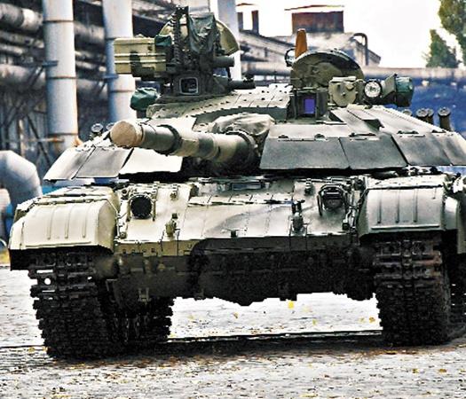 Гордость украинского военпрома - танк «Булат». С 1991 года количество танков в армии сократилось в 8 раз.