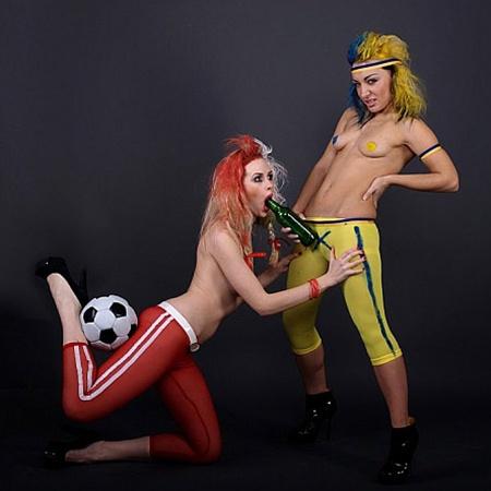 Фемен пригрозили, что будут и впредь препятствовать всем официальным мероприятиям Евро-2012