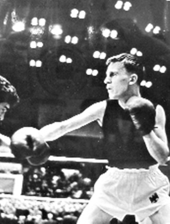 Уже на следующий день после торжественного открытия на спортивной арене провели турнир по боксу между командами СССР и ФРГ.