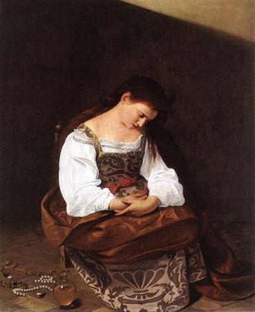 Кающаяся Мария Магдалина, 1596 г.