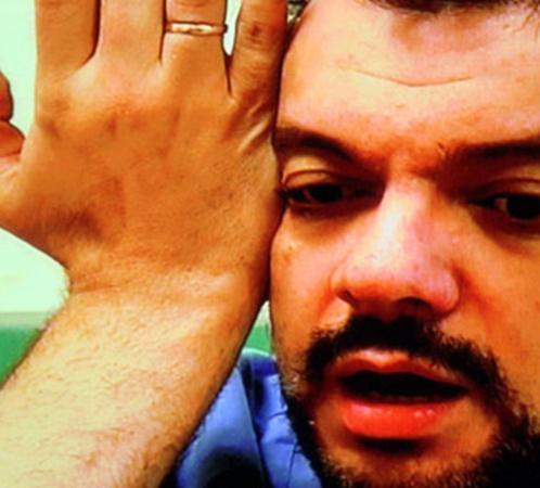 Киркоров в израильской больнице, где он проходил обследование. Фото: из интервью Киркорова Первому каналу
