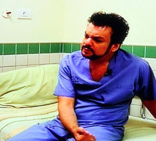 Филипп Киркоров выглядел удрученным и разбитым. Фото: из интервью Киркорова Первому каналу