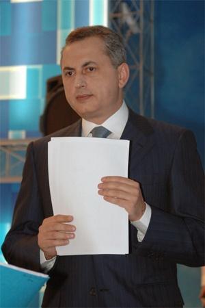 ...а Борису Колесникову досталось относительно «спокойное» Министерство инфраструктуры.