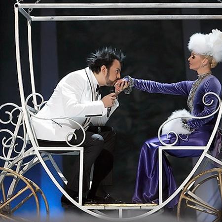 Анастасия Волочкова и Филипп Киркоров. Фото Юрия Аронова.