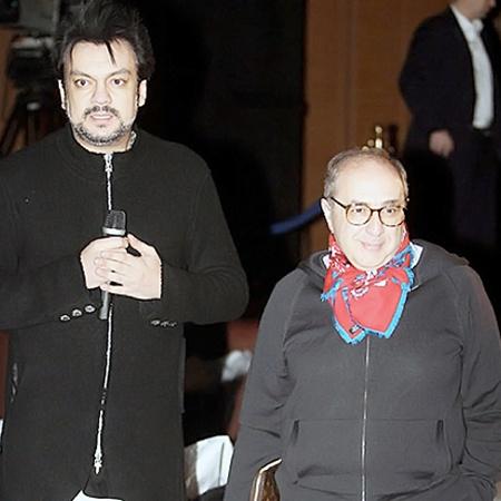 На концерт Филипп Киркоров пришел со своим адвокатом. Фото Марины ВОЛОСЕВИЧ.