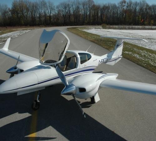 Три таких самолета обошлись бюджету в 95 миллионов гривен. Фото с сайта diamondaircraft.com