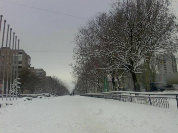 Сегодня в Донецке штормовое предупреждение. Фото: Алена Финько.