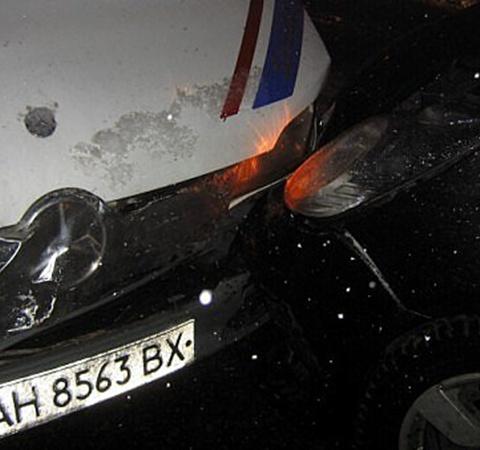 К счастью, ни кто не пострадал. Фото: novosti.dn.ua