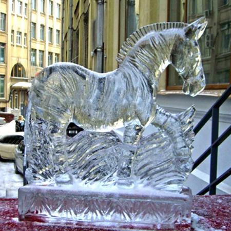 Вот такую красоту можно будет увидеть в парке ледовой скульптуры.
