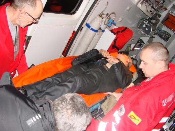 70-летнего Юрия Гнаткевича увезли в тяжелом состоянии