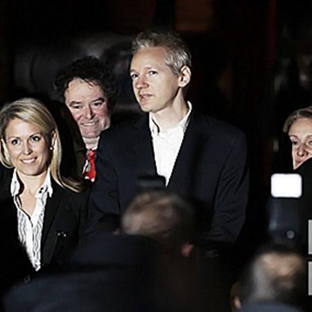Забавный парень - создатель сайта WikiLeaks. Фото АП.