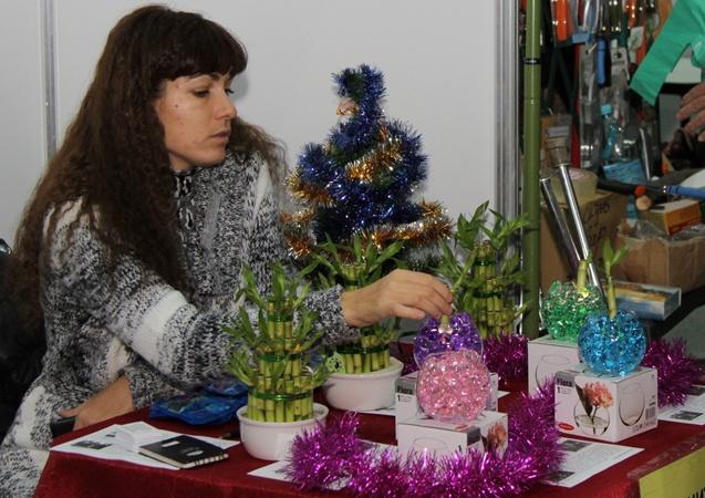 Вот такой Новогодний бамбук. Фото: Павел Колесник
