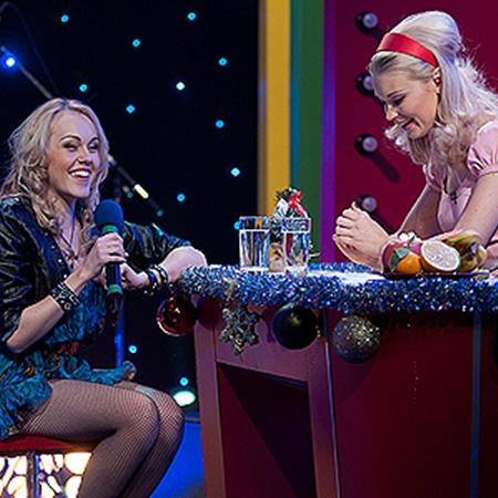 Алеша поделилась планами на Новый год с ведущей Лидой Таран.