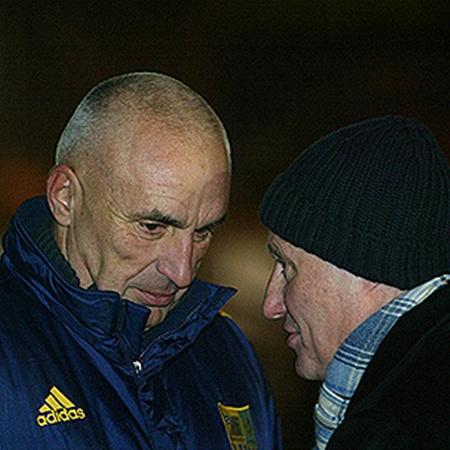 После скандала отношения между президентом «Металлиста» Александром Ярославским (слева) и Григорием Суркисом испортились напрочь.