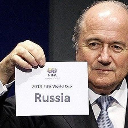 Президент ФИФА Йозеф Блаттер: - Россия!