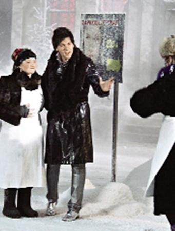 Новогодние похождения «сватов» покажут в музфильме «Здравствуй, сваха, Новый год!»
