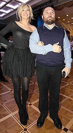 Тимур Бекмамбетов и Вера Брежнева. Фото Милы Стриж.