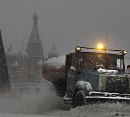 Москву накрыло снежным циклоном. Объявлено штормовое предупреждение. Фото с сайта Kp.ru