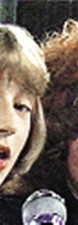 1983 год. Кристина Орбакайте и Алла Пугачева.