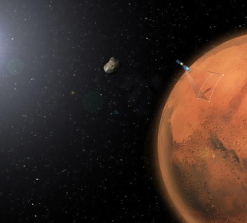 Возможно, что советский зонд снял тень от Фобоса - спутника Марса
