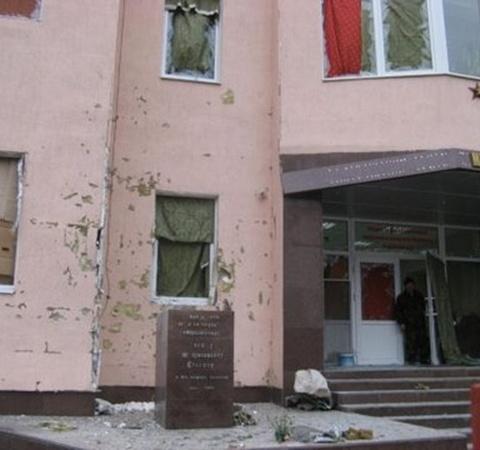 Памятник был уничтожен полностью