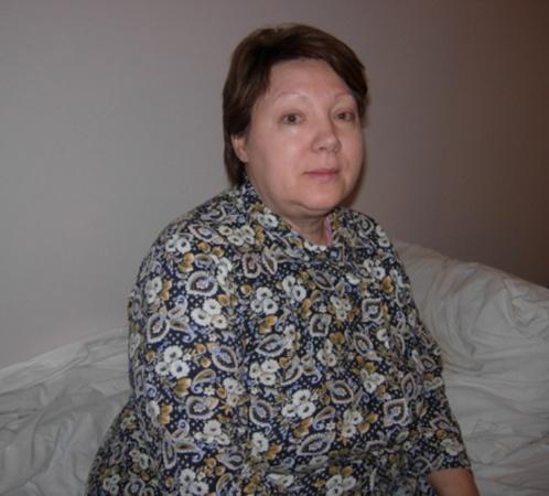 Валентина Владимировна выбиралась из горящего салона вместе с внуком