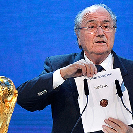 Чемпионат мира по футболу в 2018 году пройдет в России.