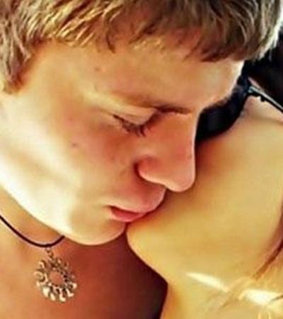Кривошапко с девушкой Яной.