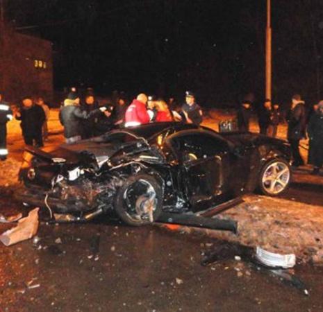 Авария произошла на улице Стеценко. Фото с сайта ukranews.com.