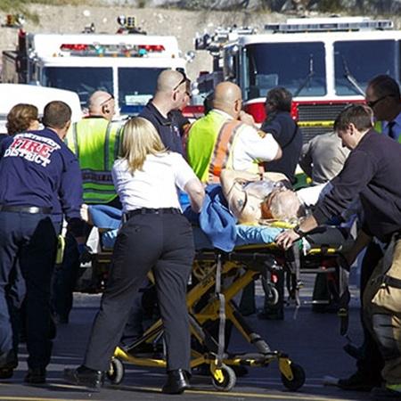13 человек ранено. Фото АП.