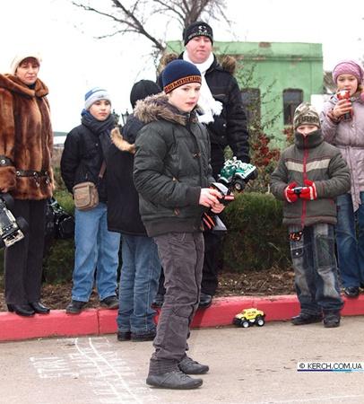 Победитель соревнований Рома. Фото с сайта: kerch.com.ua