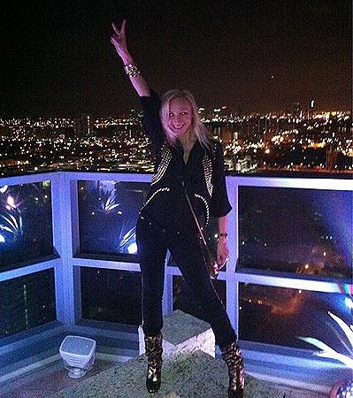После прогулок по праздничному Нью-Йорку Орбакайте и ее муж отправились в Майами. Фото из Твиттера певицы.